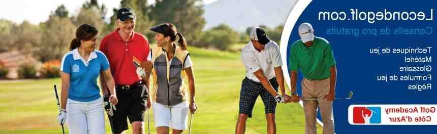 Comment s'appelle le matériel de golf ?