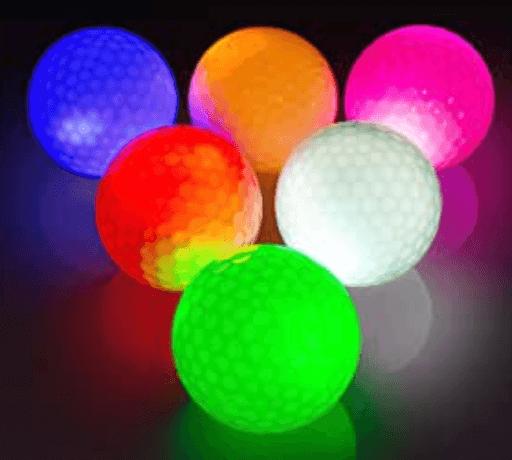 Quelle couleur balle de golf ?
