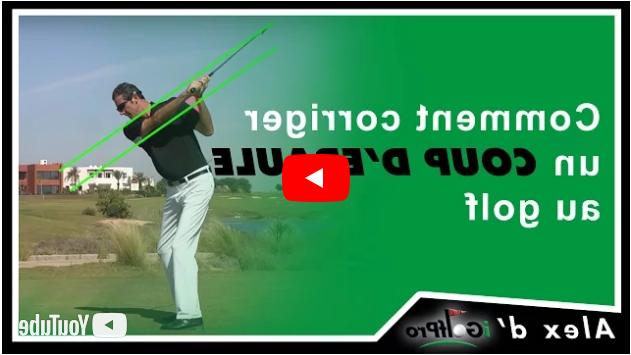 Comment corriger le slice au golf ?