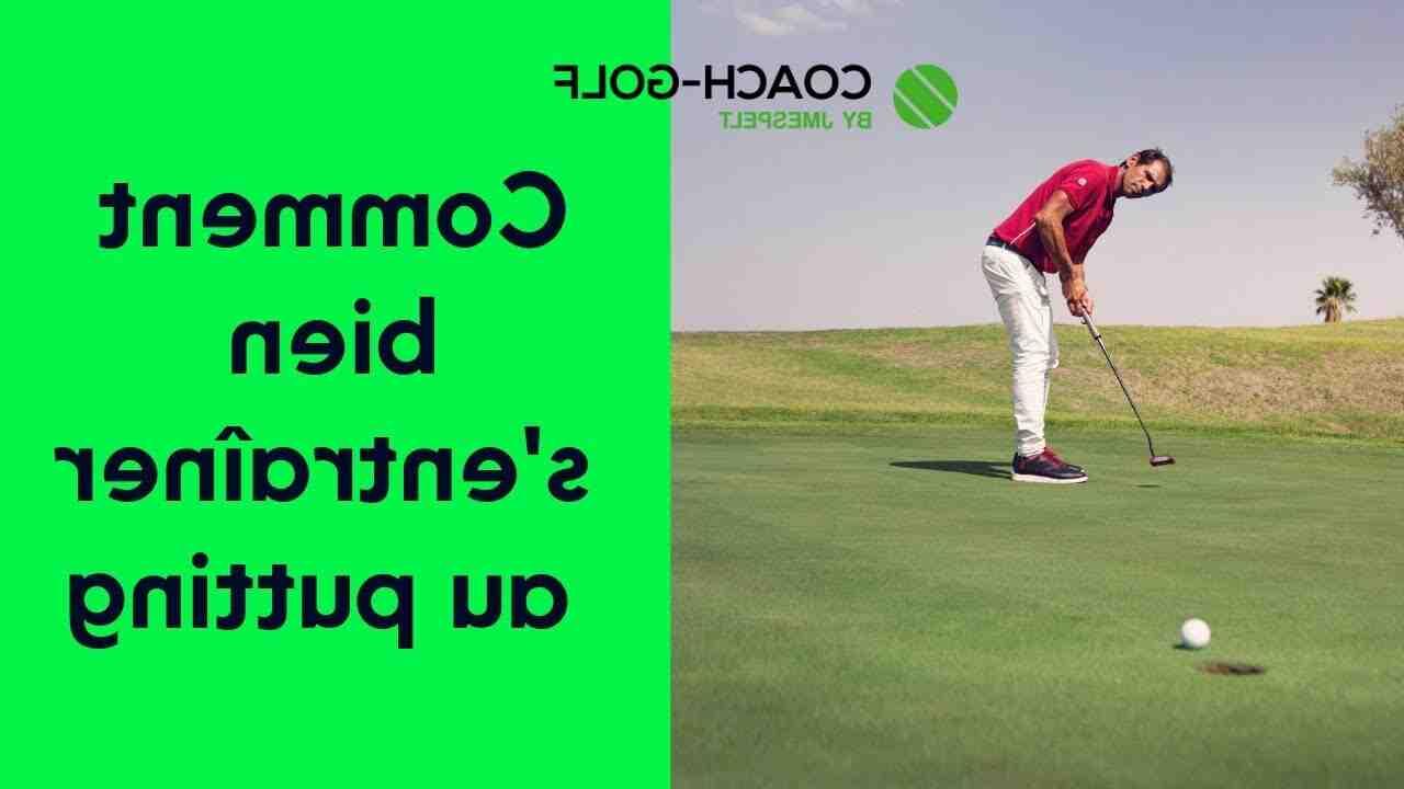 Comment jouer au golf à la maison?