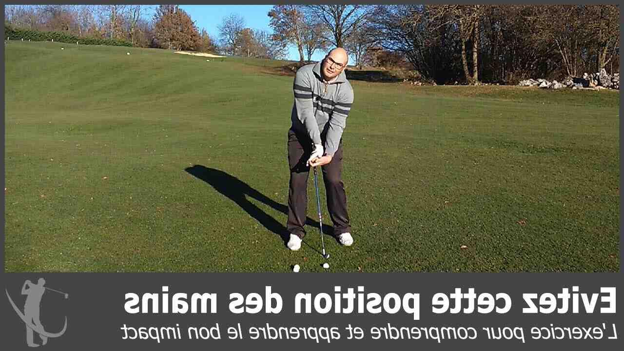 Comment tenir un club de golf?